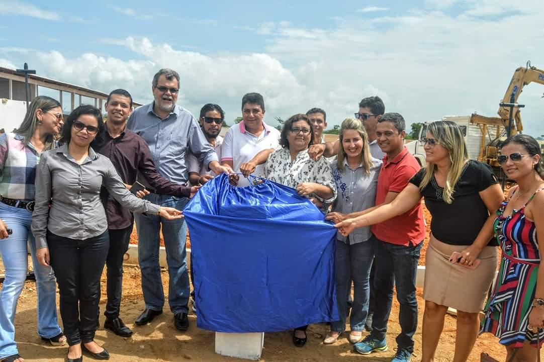 Lançamento da pedra fundamental da Sede do Campus Universitário em São Félix do Xingu
